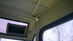Видеонаблюдение в автобусе