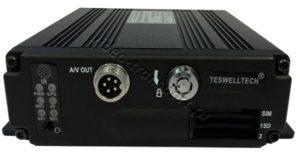 4-канальный видеорегистратор для транспорта Teswell TS-830