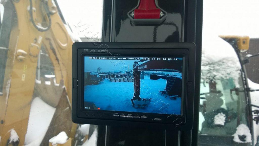 Видеорегистрация на спецтехнике