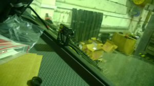 Видеокамера в кабине грузовика
