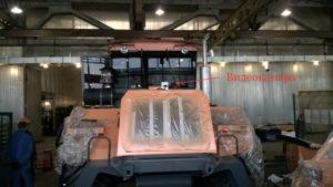 Видеофиксация на тракторе