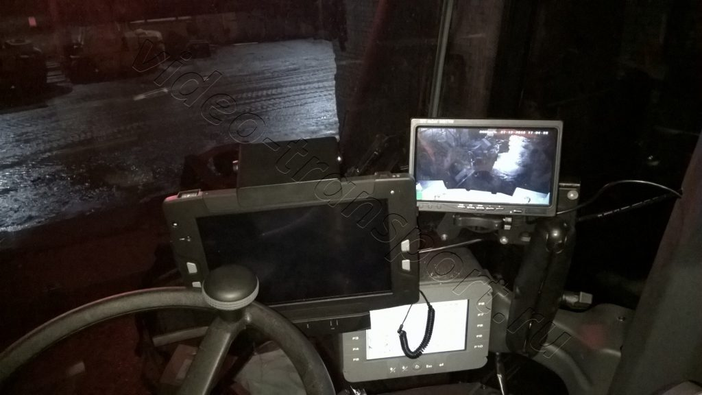 Установка видеонаблюдения на ричтакере