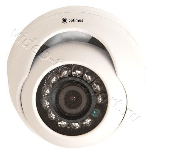 Миниатюрная антивандальная видеокамера для транспорта Optimus AHD-M051