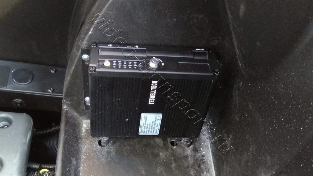 Установка видеорегистратора в экскаватор