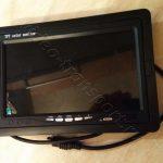 Монитор для видеонаблюдения на экскаватор