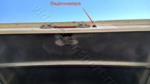 Установка камер заднего вида на фургон