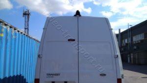 Установка камеры заднего вида на фургоне