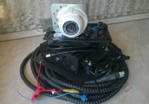 Комплект для видеофиксации на спецтехнике Транснефть