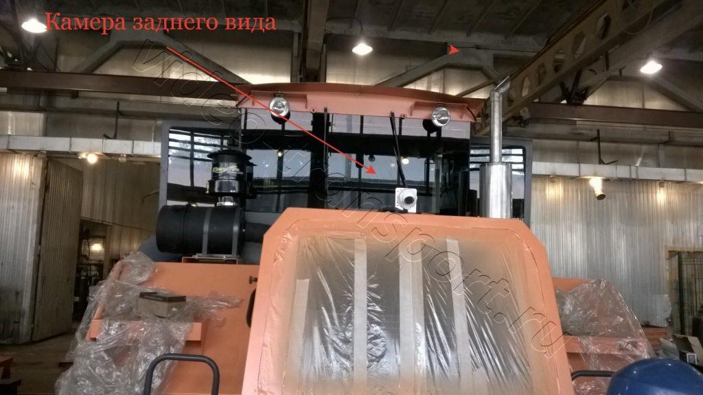 Камера заднего вида на трактор