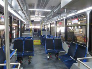 Установка систем видеонаблюдения в общественном транспорте