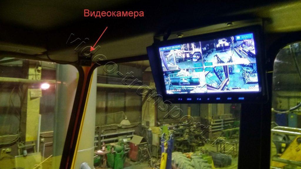 Видеокамера в кабину спецтехники