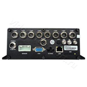 8-канальный видеорегистратор для транспорта Teswell TS-918