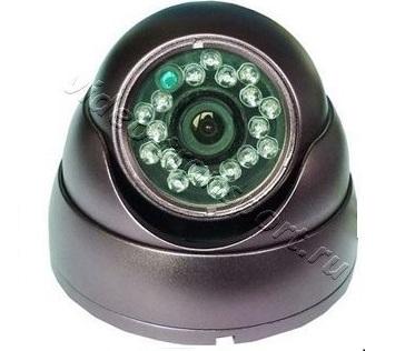 Антивандальная видеокамера для транспорта Teswell TS-121