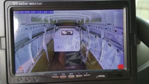 Монтаж видеонаблюдения в фургоне