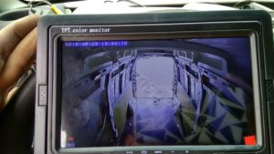 Система видеонаблюдение на фургоне