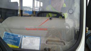 Видеокамера в пассажирском транспорте