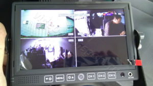 Видеонаблюдение на микроавтобусе