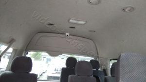Видеокамера в микроавтобус