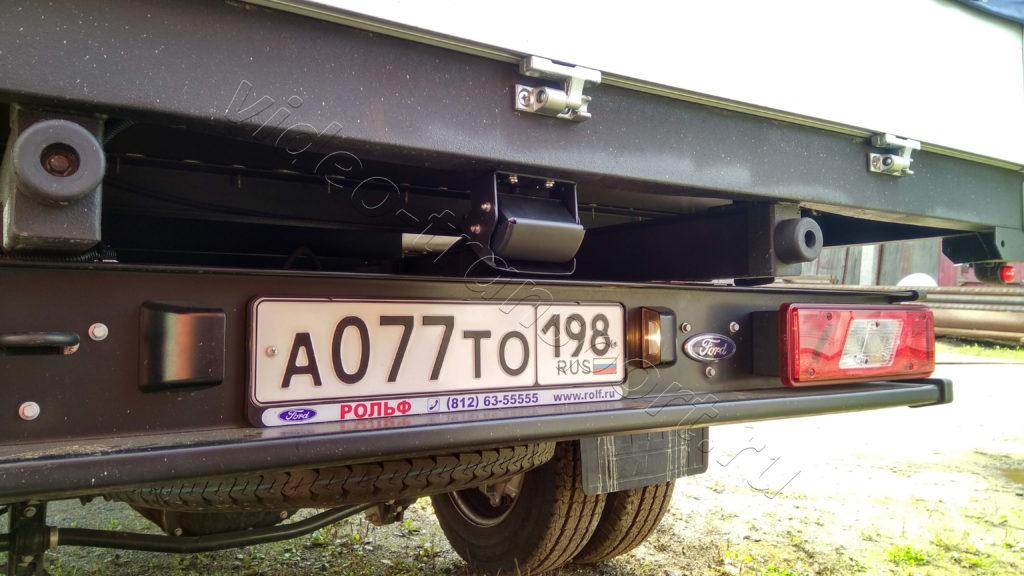 Установка камер заднего вида на грузовик