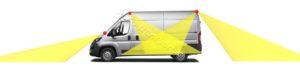 Видеонаблюдение на фургон