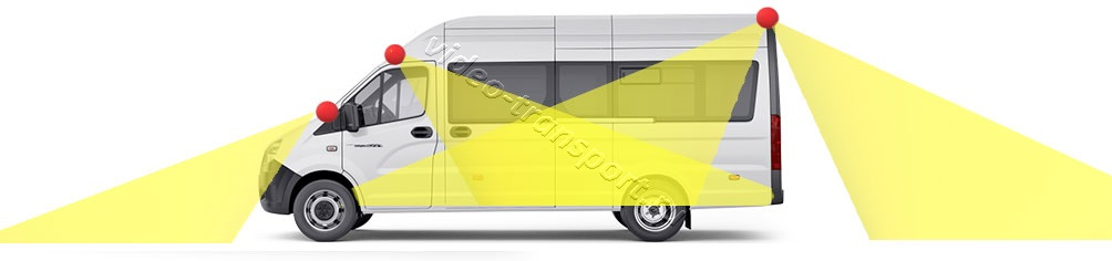 Видеонаблюдение на микроавтобус