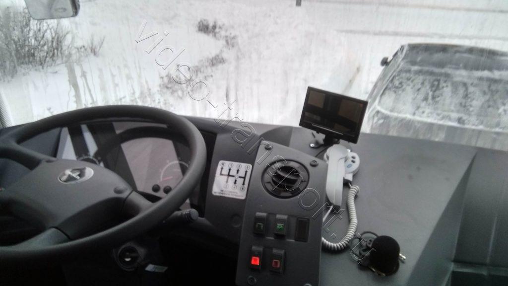 Камера заднего вида на пассажирском транспорте