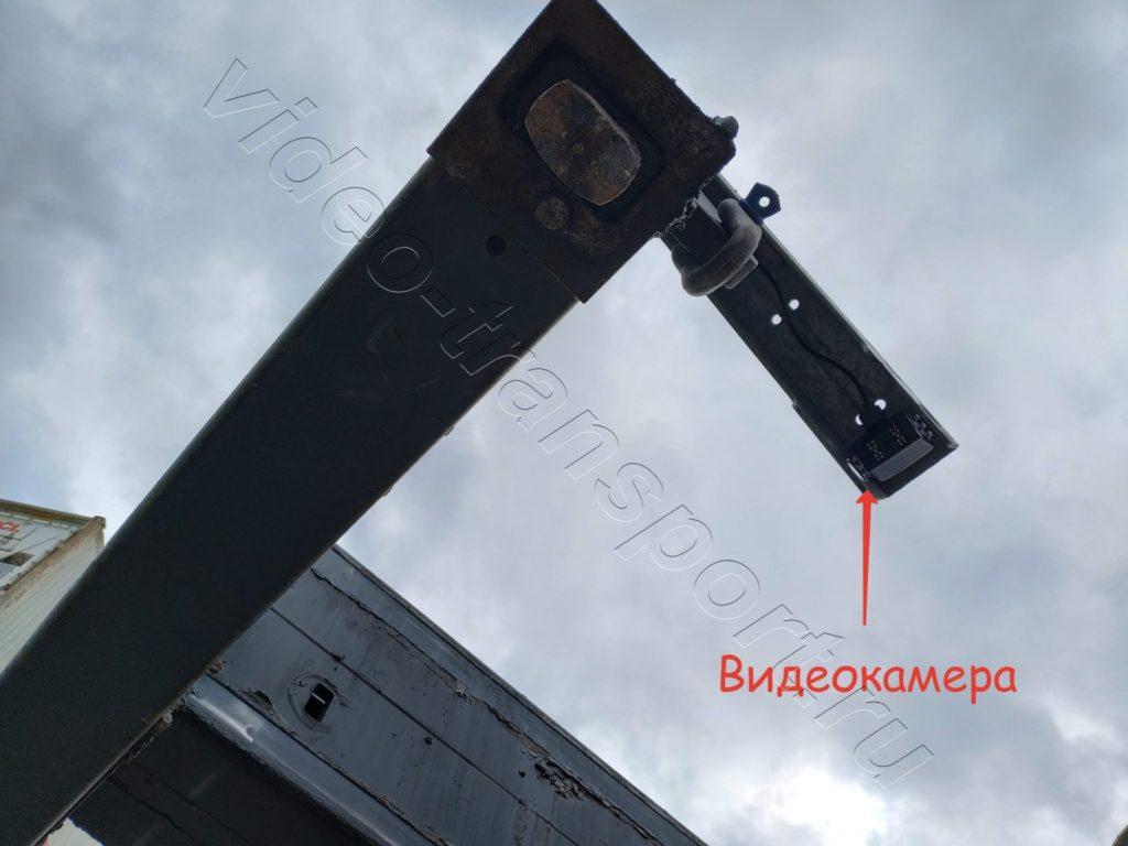 Установка видеокамер на ричстакер